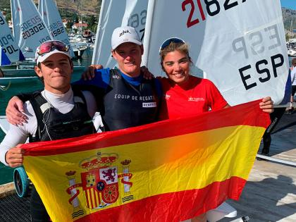 Tres platas para España en el Europeo de ILCA 6 Sub19
