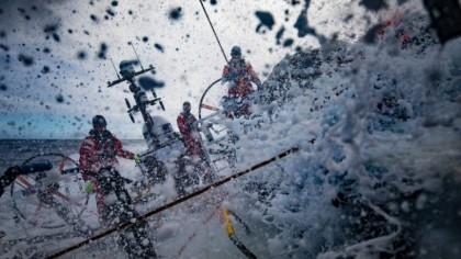 Un frente potentísimo espera a la Volvo Ocean Race