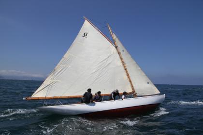Veinte barcos en la Copa Gitana en el Abra