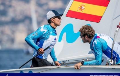 Xammar y Rodríguez en lo más alto el europeo de 470