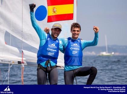 Xammar y Rodríguez, oro en la World Cup de Miami