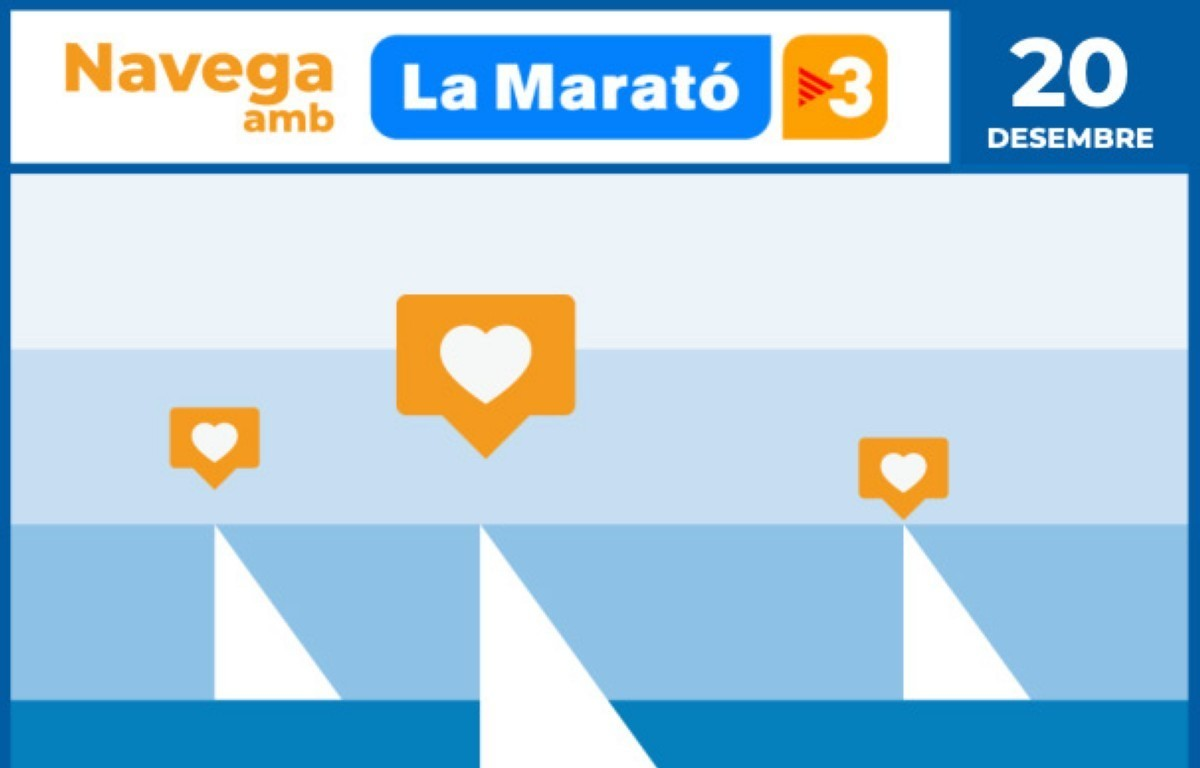 Un Mar Solidario - La Marató de TV3, la fiesta solidaria de la vela