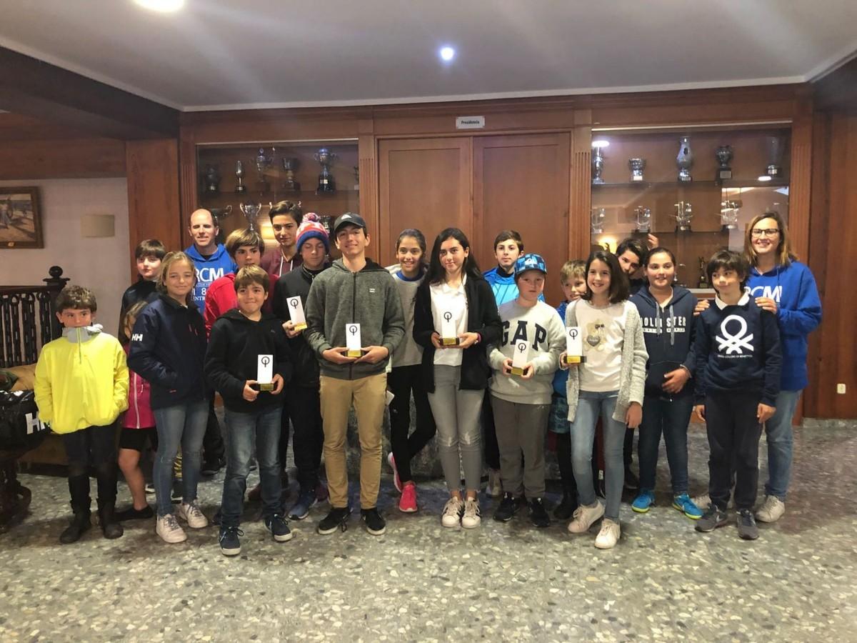 Vencedores del Trofeo Presidente de Vela