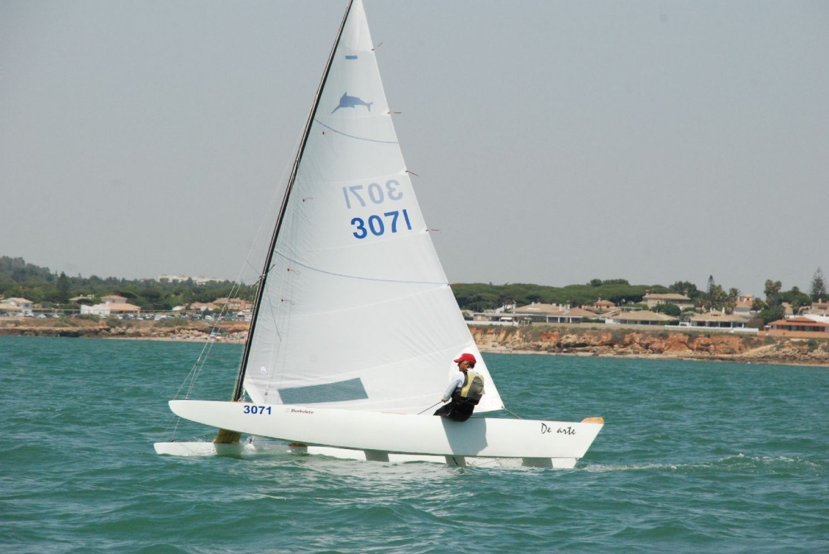 Vicente Climent vencedor de la XIX Liga de Patín a Vela