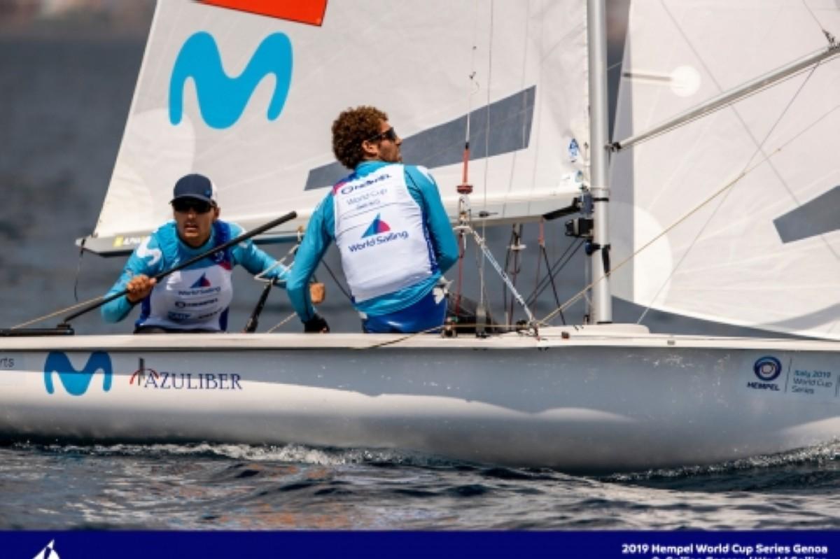 Xammar/Rodríguez y Mas/Cantero a por el título de campeones de Europa de 470