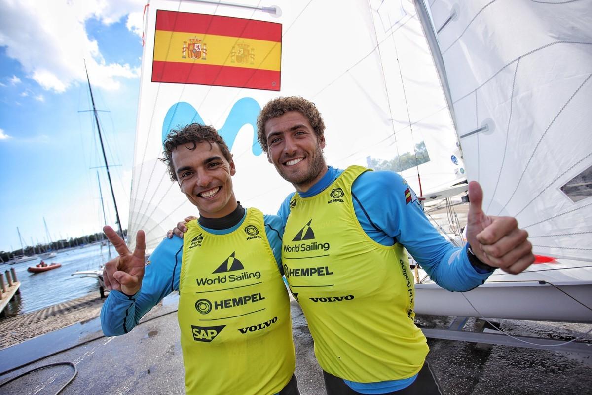 Xammar y Rodríguez oro en la Copa del Mundo