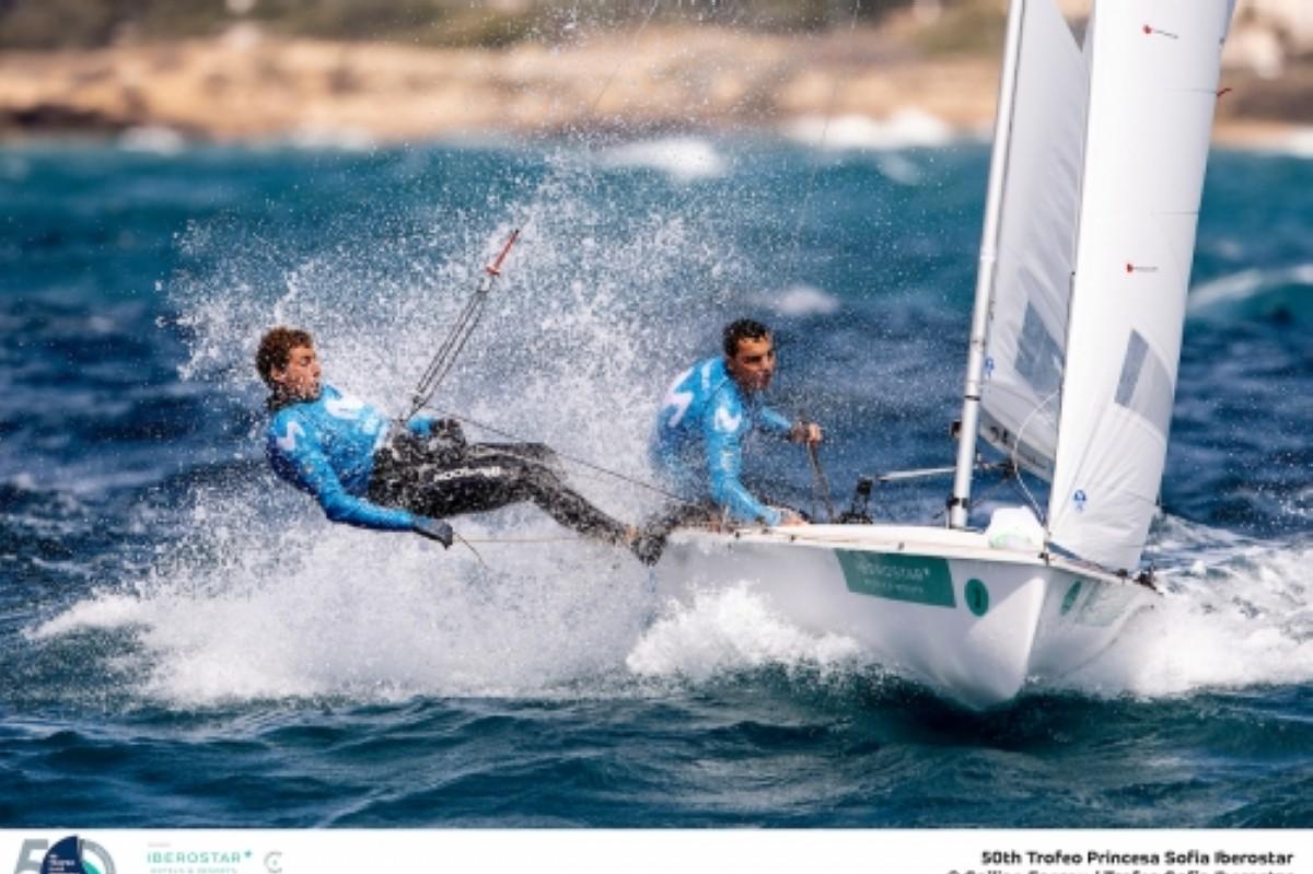 Xammar/Rodriguez segundos en el europeo de 470