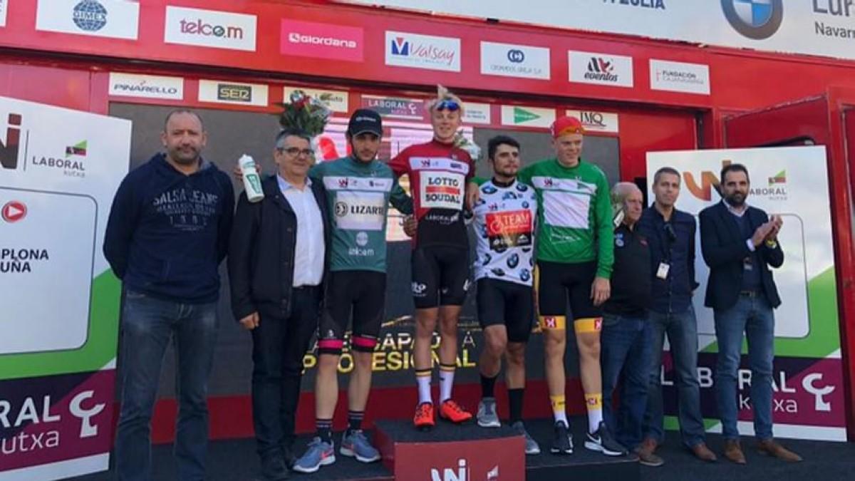 Maxim Van Girls se viste de rojo en la Vuelta a Navarra
