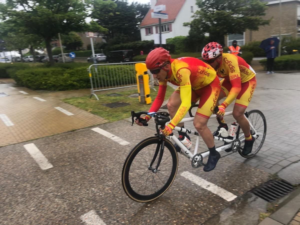 10 medallas para la selección de ciclismo adaptado en Ostende