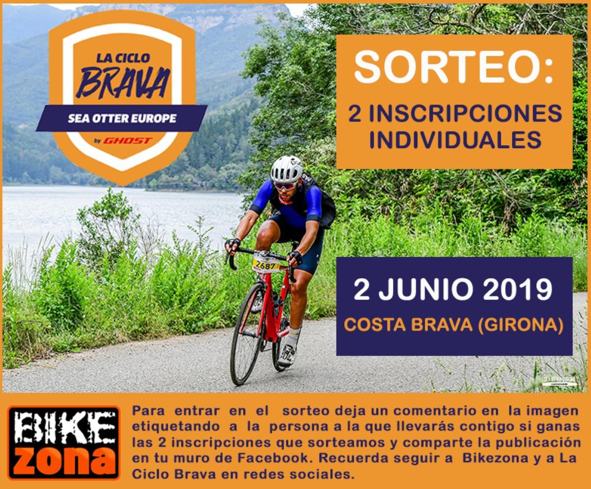 ¿Quieres participar gratis en la Ciclo Brava? No te pierdas nuestro sorteo