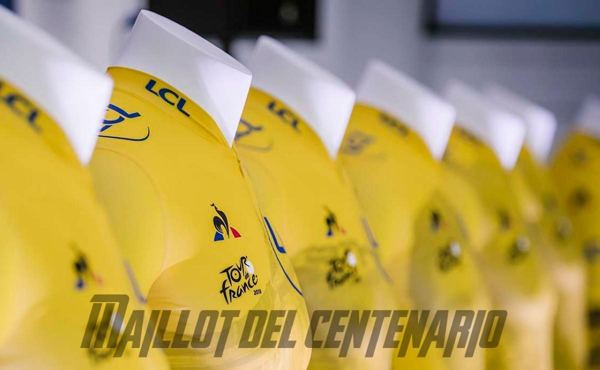 20 prendas únicas para el primer centenario del maillot amarillo del Tour