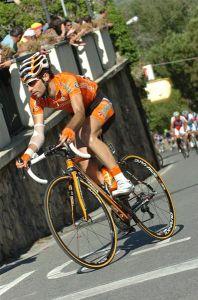 Giro 2011:  Miguel Minguez de Euskaltel en la escapada del día