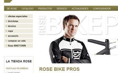 www.rosebikes.es desembarca en España.