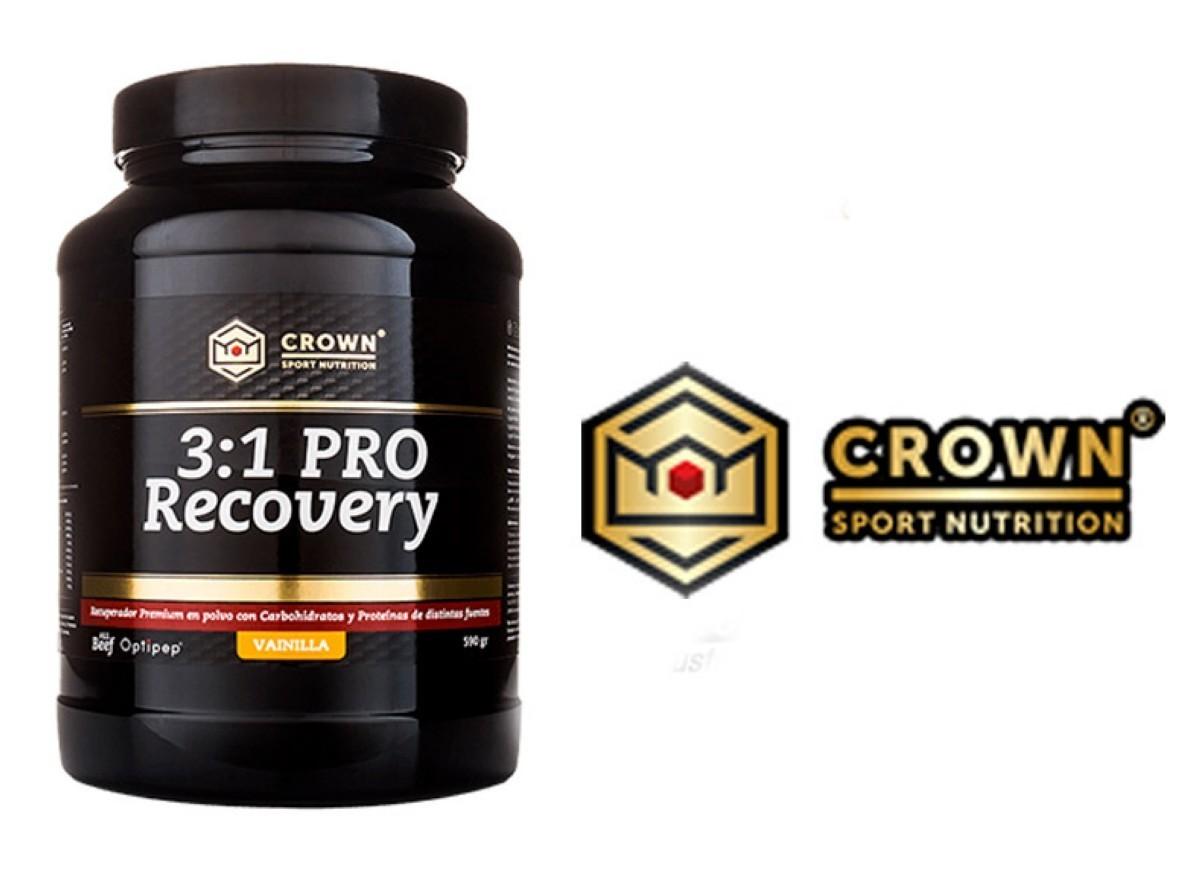 3:1 PRO Recovery, recuperador con materias primas premium y evidencia científica