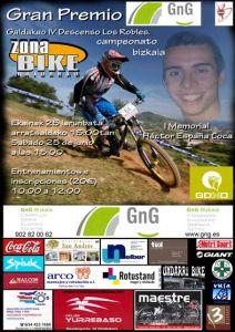 El IV Descenso de Mountain Bike Los robles-I Memorial Hector España