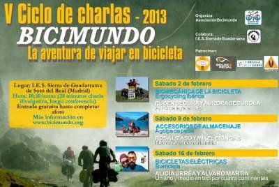 Programa conferencias BICIMUNDO 2013