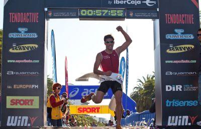 Albert Parreño llega a lo más alto en Salou
