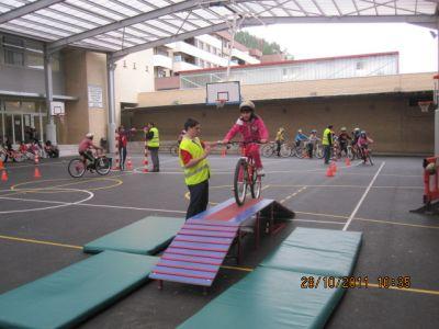 La bicicleta en el entorno escolar