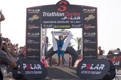 Francesc Godoy se lleva el Triathlon Series by Polar