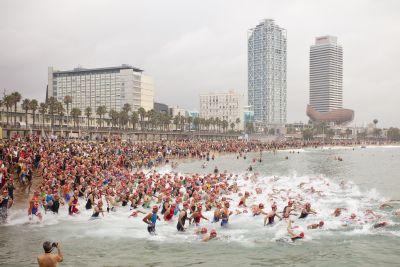 Final brillante del Triathlon Series by Polar en Barcelona