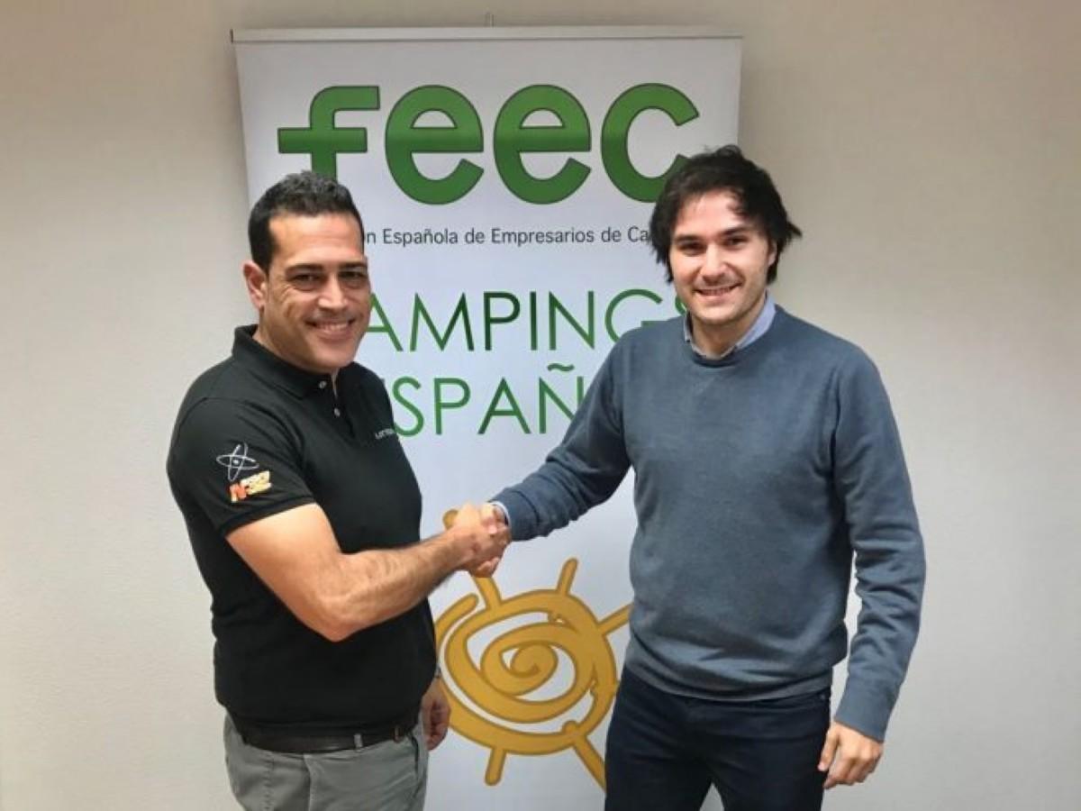 Acuerdo de Littium Kaos con la Federación Española de Campings
