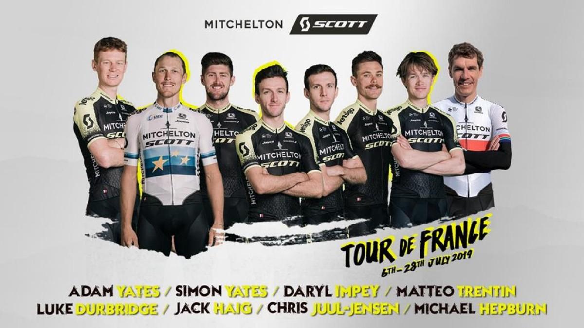 Adam Yates ya tiene equipo para escoltarle en el Tour de Francia 2019