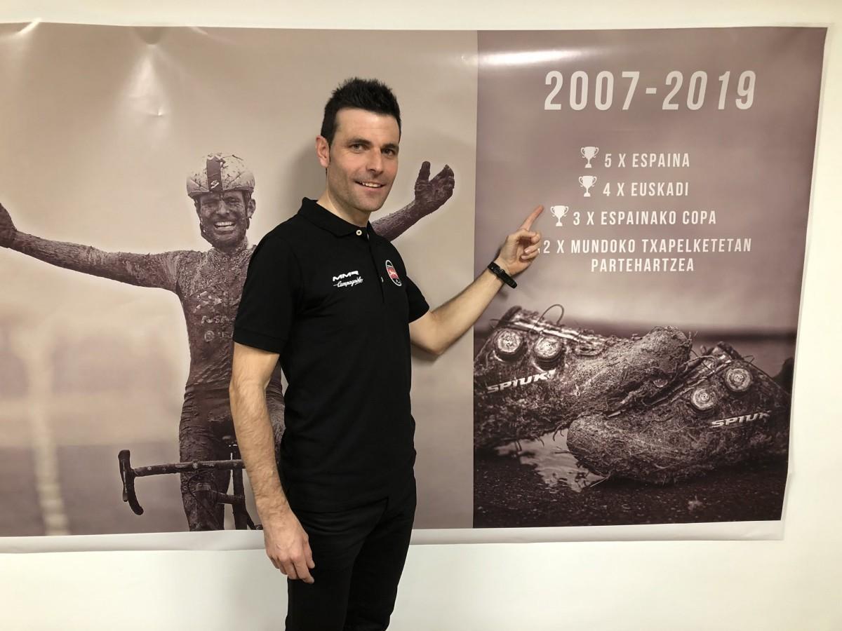 Adiós a la competición para Javier Ruiz de Larrinaga, se despide un caballero del ciclismo