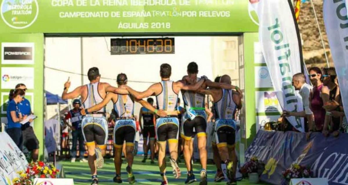 Águilas recibe este fin de semana a 4000 triatletas