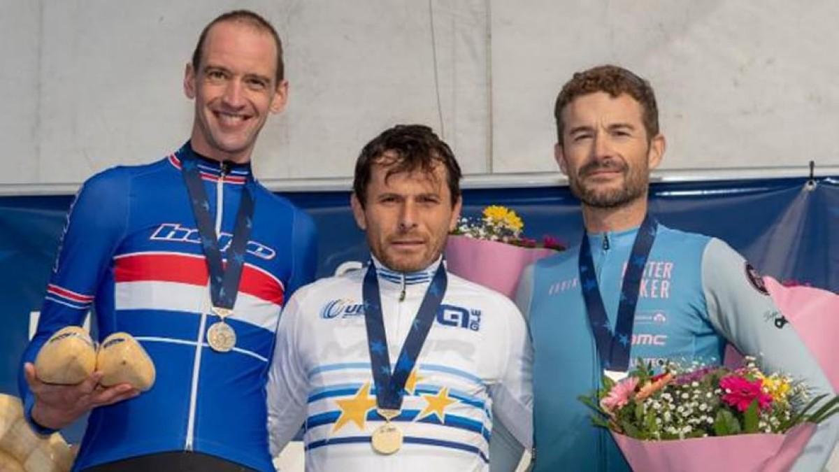 Agustín Navarro y Borja Bergareche, campeones de Europa de Ciclocross