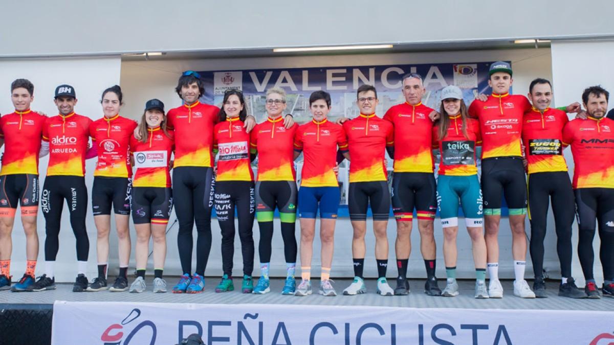 Aida Nuño e Ismael Esteban son los nuevos campeones de la Copa de España de Ciclocross 2019