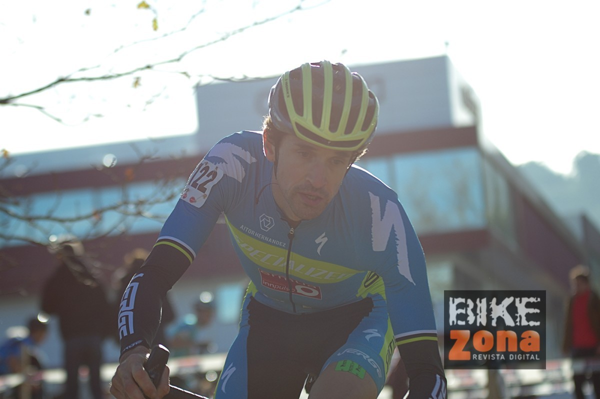Aitor Hernández ante los Campeonatos de España de Ciclocross de Torrelavega