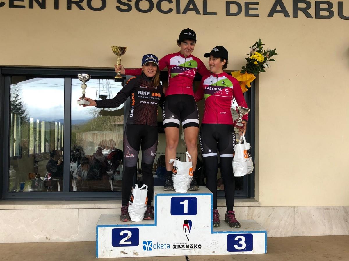 Aitor Hernández y Paula Suárez  ganadores en Arbulo