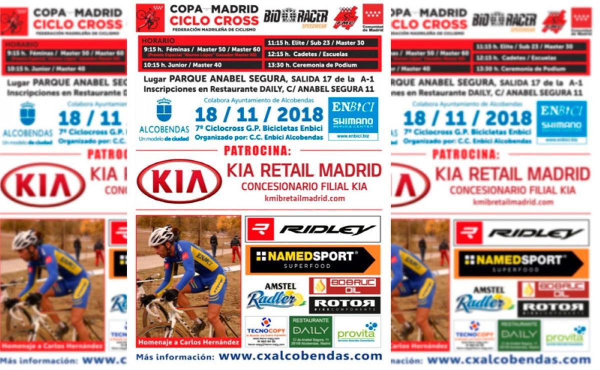 Alcobendas se cita con el mejor ciclocross el próximo 18 de Noviembre