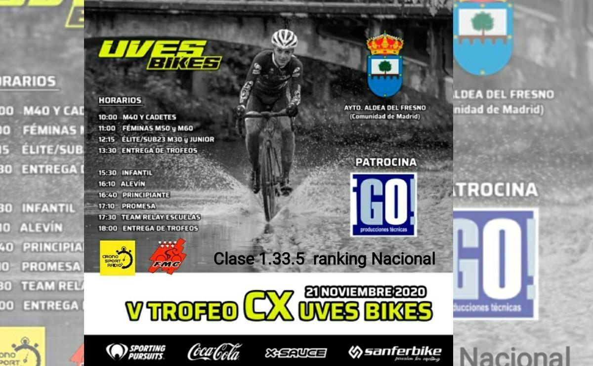 Aldea del Fresno abre la temporada de ciclocross en la Comunidad de Madrid