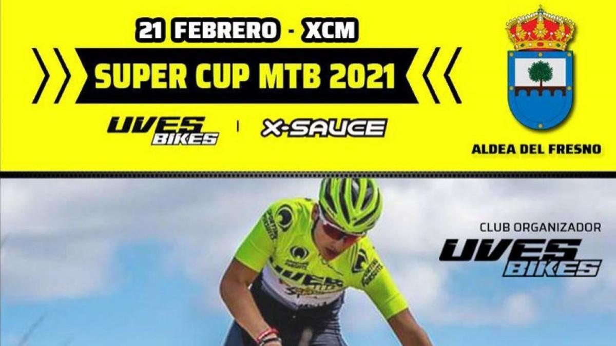 Aldea del Fresno acoge este domingo una nueva prueba de la Super Cup MTB de maratón
