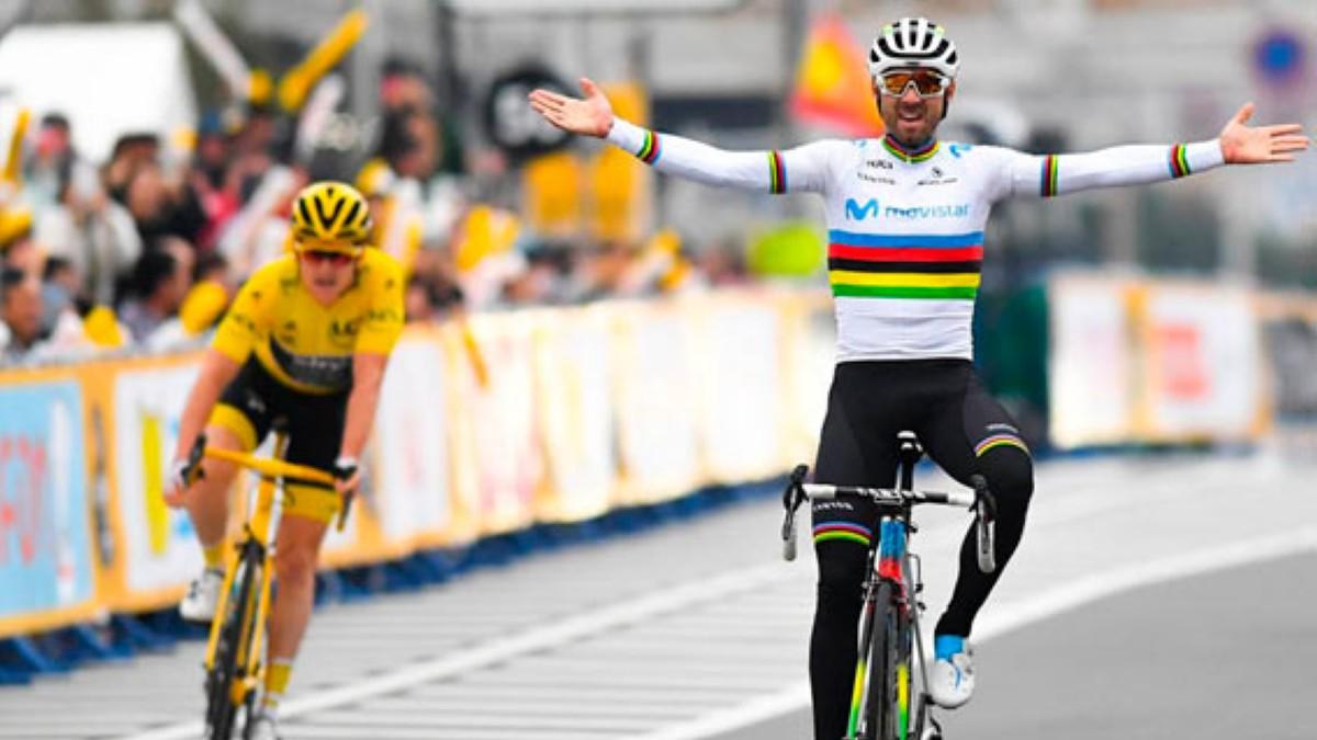 Alejandro Valverde quiere seguir reinando en el pelotón en 2020
