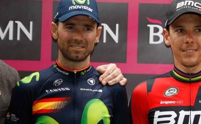 Alejandro Valverde segundo en Murcia en la primera del año