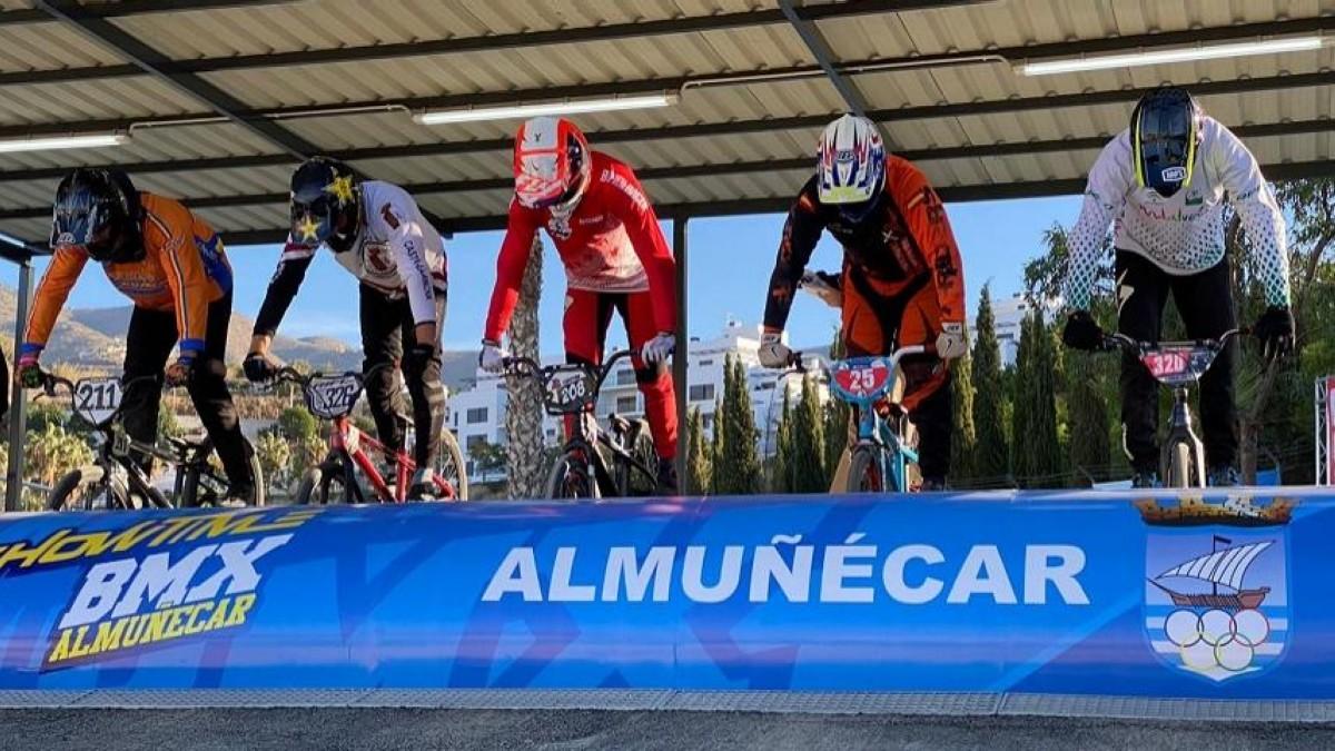 Almuñécar acoge el Campeonato de España de BMX Racing 2021