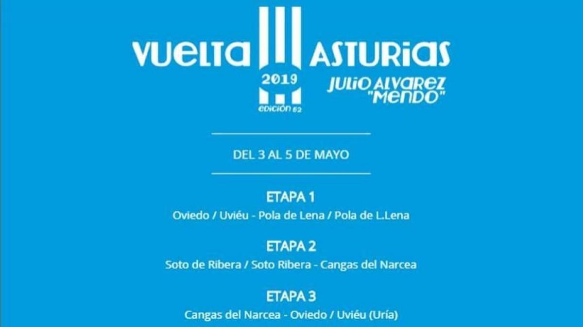 Anunciados los equipos para la LXII edición de la Vuelta a Asturias