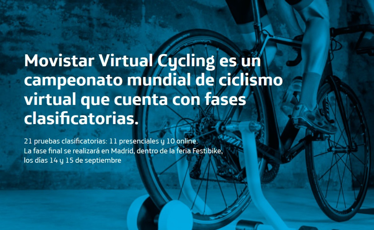 Arrancan las inscripciones para el Movistar Virtual Cycling