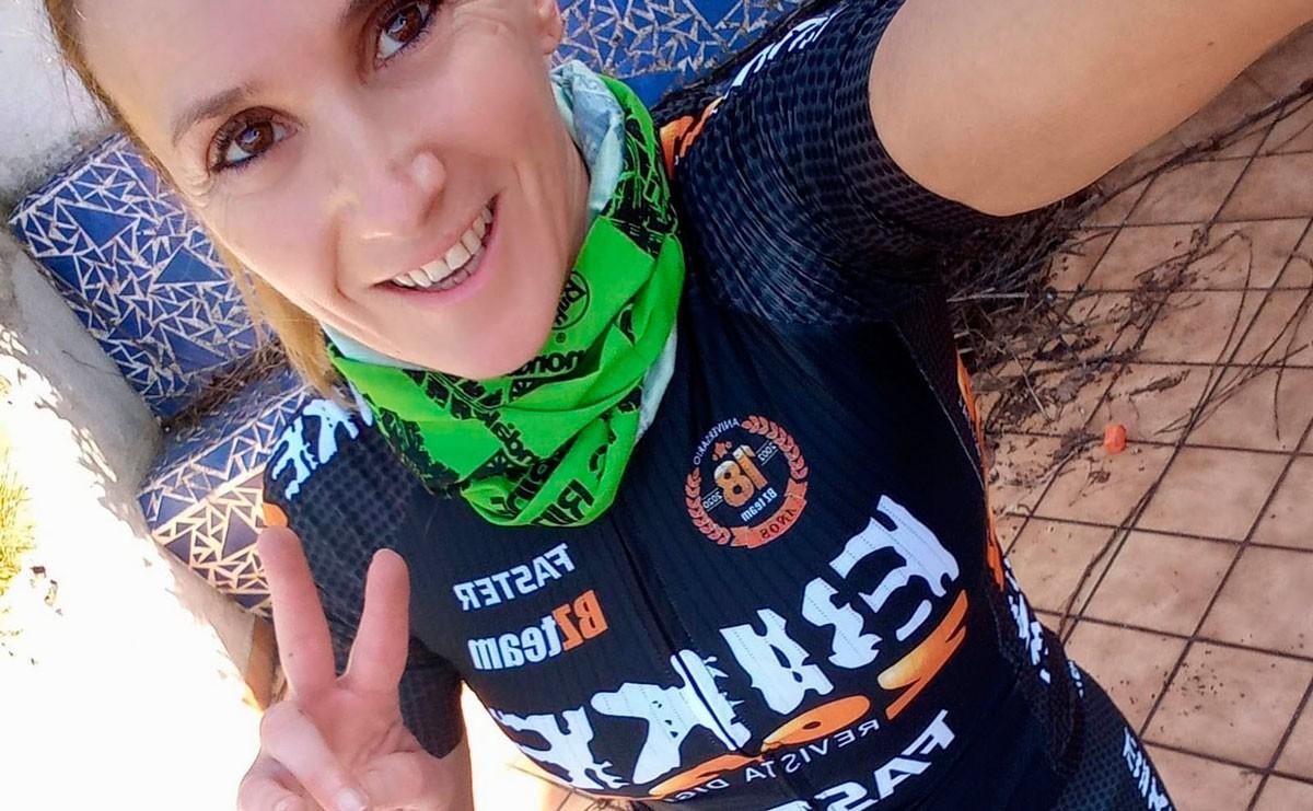 Así pasa la cuarentena la corredora del BZ Team Mónica Carrascosa