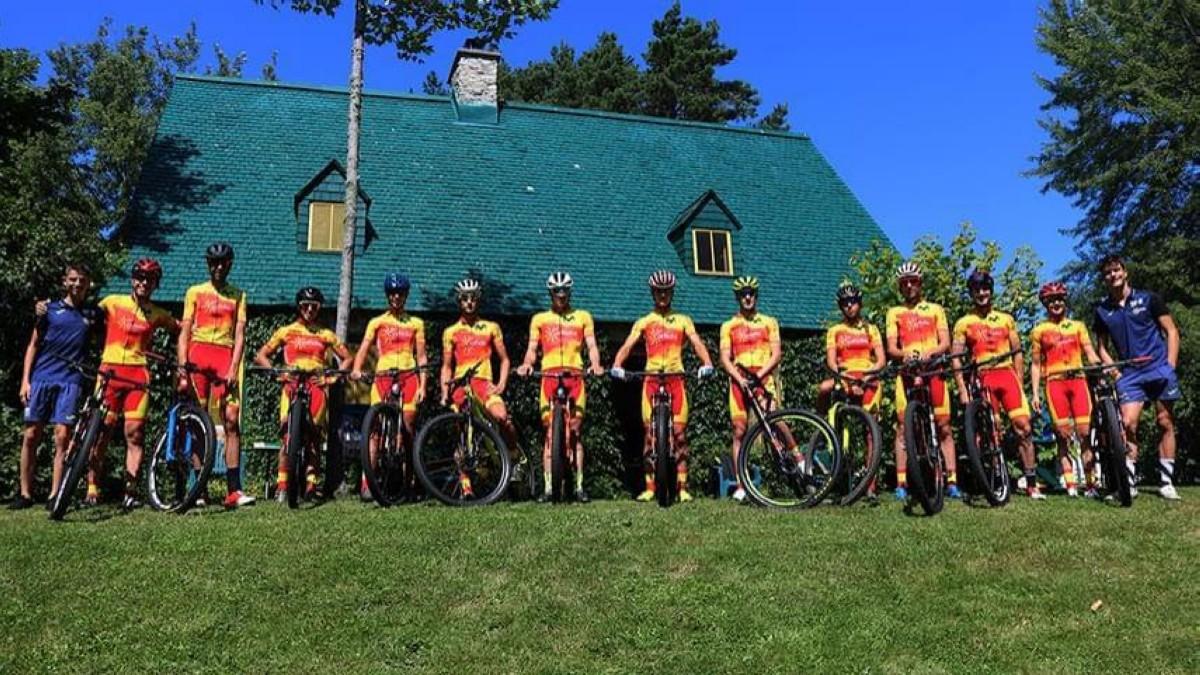Así se preparan los corredores de la selección para el Mundial de Mont-Sainte-Anne