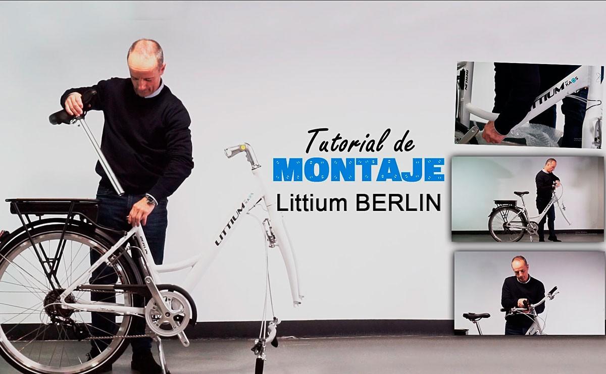 Así de sencillo es montar la bicicleta eléctrica Littium Berlin