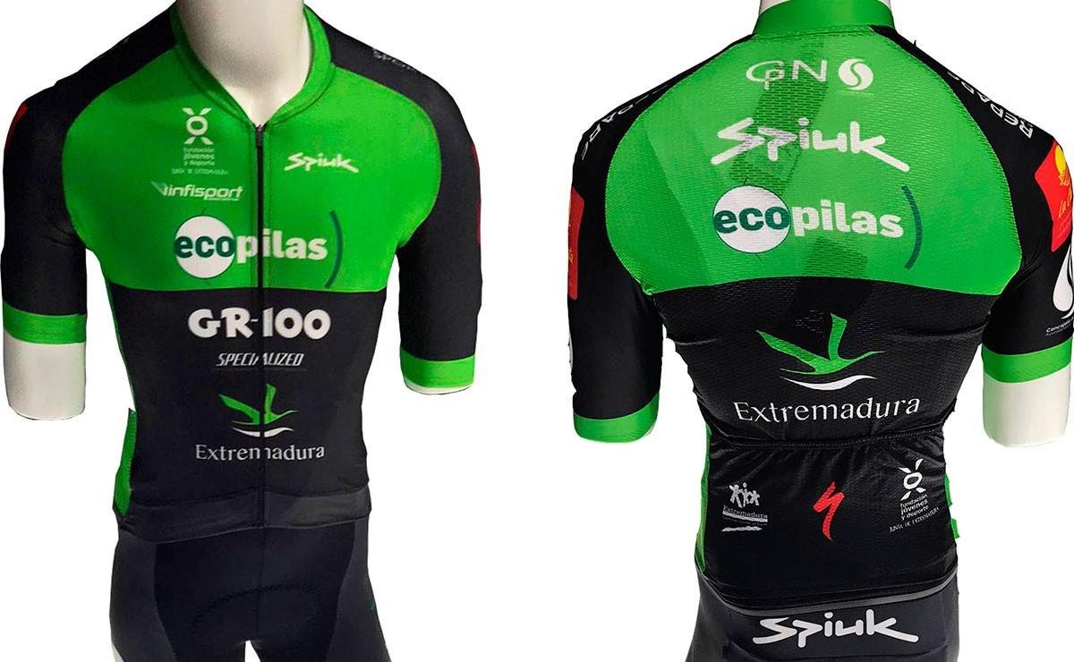 Así será la equipación SPIUK del Extremadura-Ecopilas MTB 2020