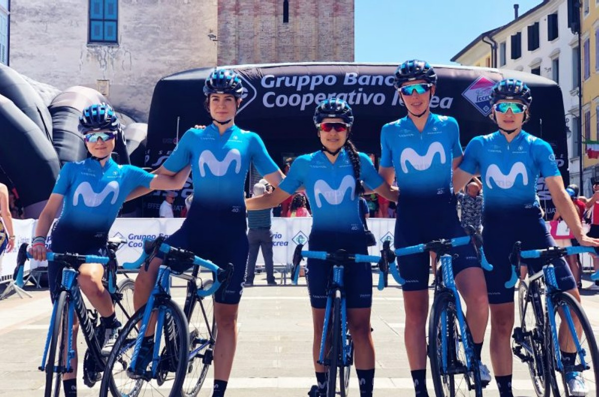 Balance del Giro Rosa para el Movistar Team