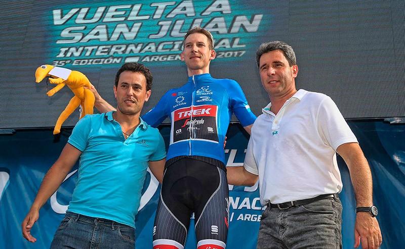Bauke Mollema logra la victoria final en la Vuelta a San Juan