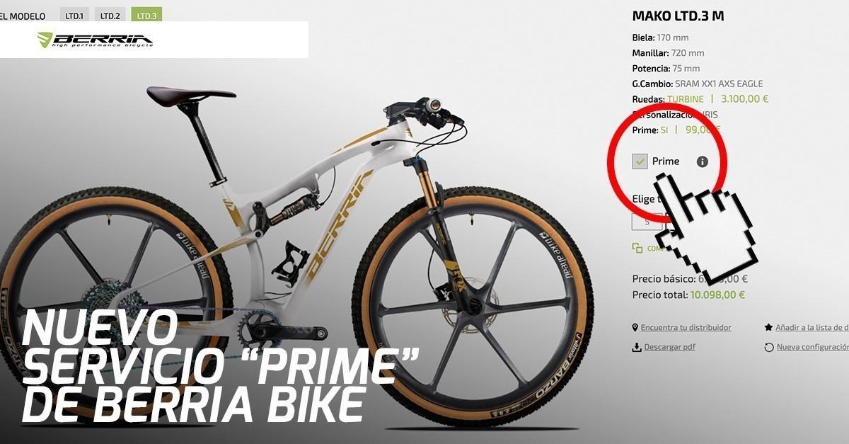 Berria BIKE presenta el servicio de personalización de bicicletas más rápido del mercado