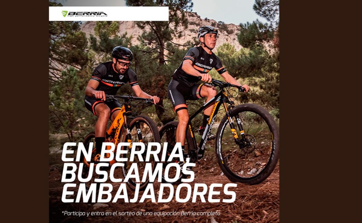 Berria Bikes busca embajadores apasionados del ciclismo