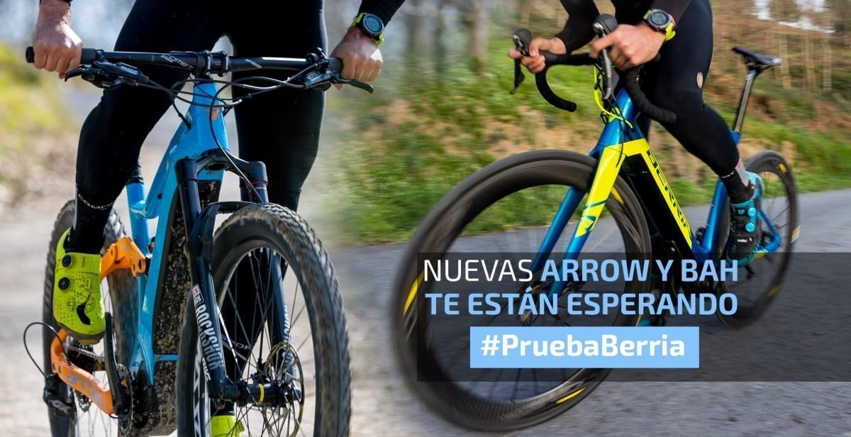 Berria lanza los #PruebaBerria de sus modelos e-bike