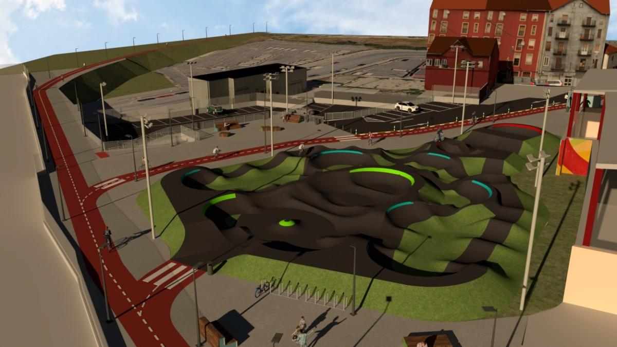 Bilbao anuncia la creación de su primer Pump Track en el barrio de Zorroza